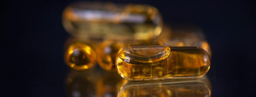 CBD THC Extract Capsules