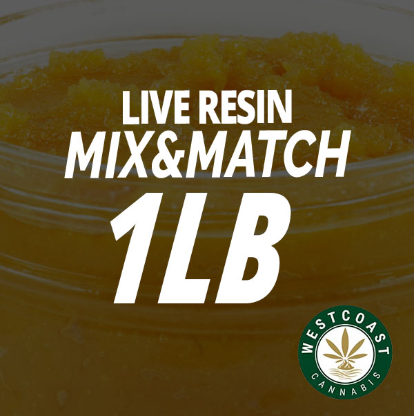 live resin concentrate mix and match