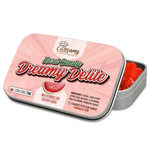 dreamy delite watermelon hard candies