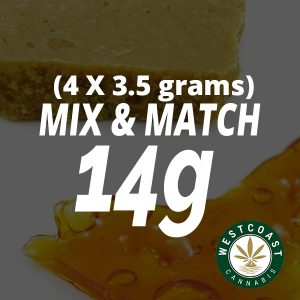 cannabis concentrate mix and match