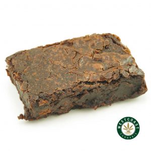 Buy Get Wrecked Edibles Chocolate Brownie at Wccannabis Online Shop