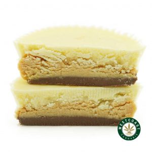 Buy Get Wrecked Edibles White Chocolate Peanut Butter Cups at Wccannabis Online Shop