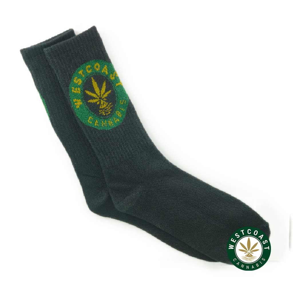 Buy West Coast Cannabis Crew Socks at Wccannabis Online Shop
