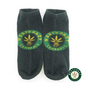 Buy West Coast Cannabis Ankle Socks at Wccananbis Online Shop