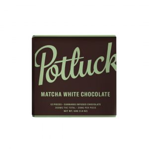 Buy Potluck Matcha White Chocolate at Wccannabis Online Shop