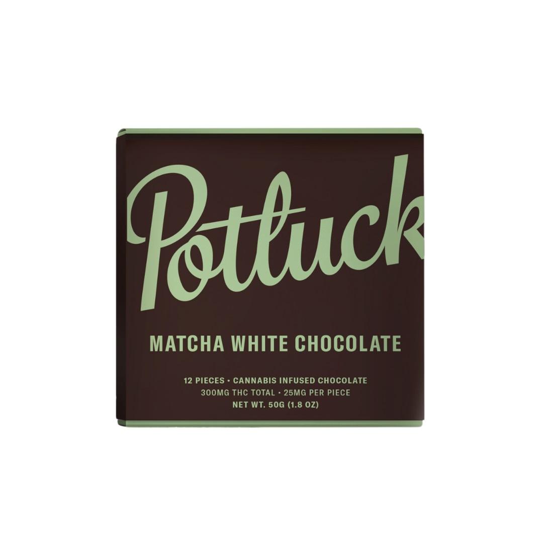 Buy Potluck Matcha White Chocolate at Wccannabis Online Shop