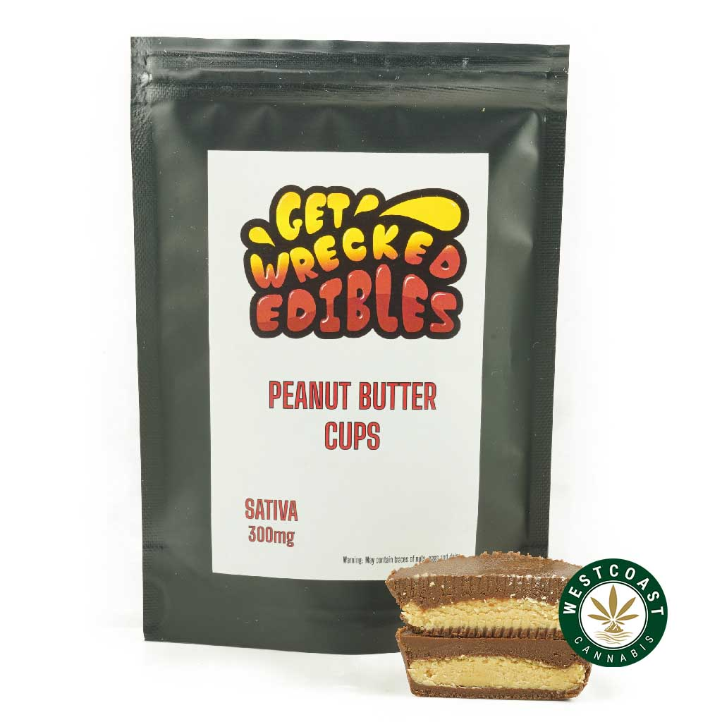 Buy Get Wrecked Edibles White Chocolate Macadamia Nut Cookie at Wccannabis Online Shop