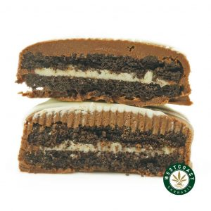 Buy Get Wrecked Edibles White Chocolate Dipped Oreos at Wccannabis Online Shop