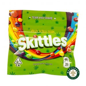 Buy Skittles Sour 400mg THC at Wccannabis Online Store