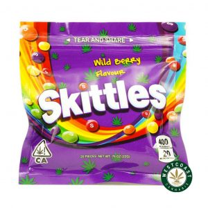 Buy Skittles Wild Berry 400mg THC at Wccannabis Online Store